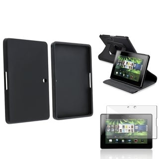 BasAcc Swivel Case/ Protector/ Silicone Case for BlackBerry PlayBook
