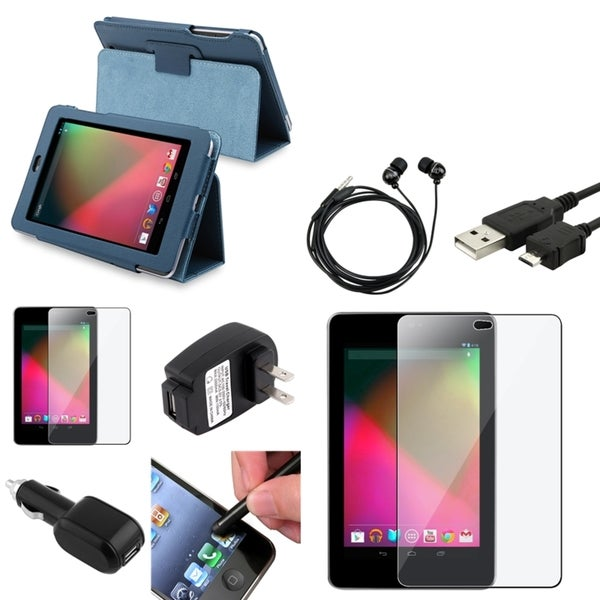 BasAcc Case/ Protector/ Headset/ Chargers/ Stylus for Google Nexus 7