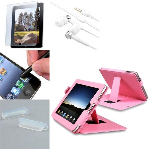 BasAcc Headset/ Protector/ Stylus/ Case/ Dock Plug for Apple iPad 1