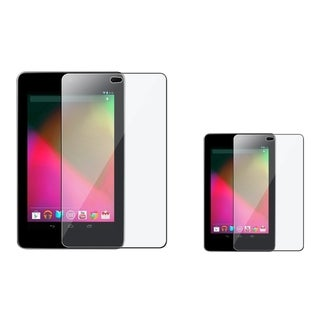 INSTEN Clear Screen Protector for Google Nexus 7 (Pack of 2)