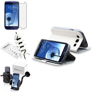 BasAcc Case/ Protector/ Car Mount/ Wrap for Samsung Galaxy S III/ S3