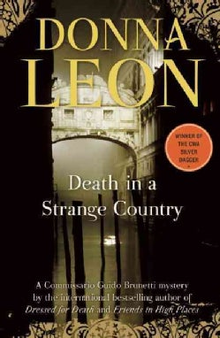 Death in a Strange Country: A Commissario Guido Brunetti Mystery (Paperback)
