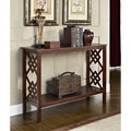 Diamond Design Espresso Occasional Console