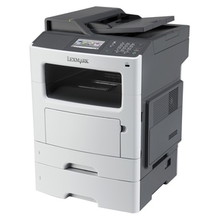 Lexmark MX611DTE Laser Multifunction Printer - Monochrome - Plain Pap