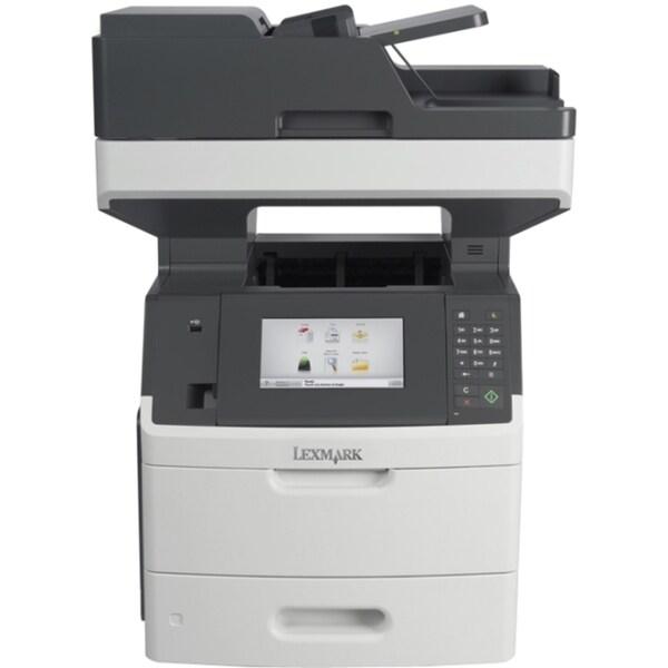 Lexmark MX710DHE Laser Multifunction Printer - Monochrome - Plain Pap