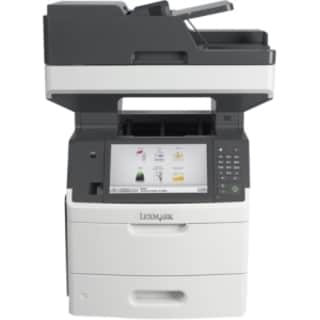 Lexmark MX711DHE Laser Multifunction Printer - Monochrome - Plain Pap