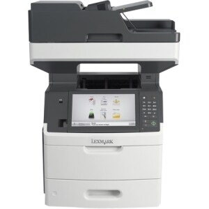 Lexmark MX711DHE Laser Multifunction Printer - Monochrome - Plain Pap