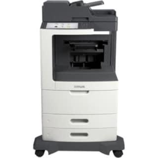 Lexmark MX810DE Laser Multifunction Printer - Monochrome - Plain Pape