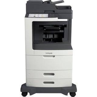 Lexmark MX810DFE Laser Multifunction Printer - Monochrome - Plain Pap