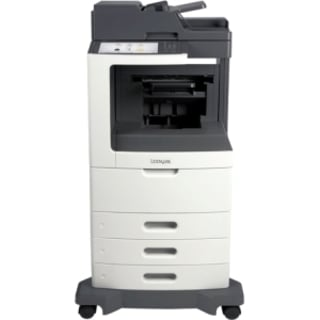 Lexmark MX811DTFE Laser Multifunction Printer - Monochrome - Plain Pa
