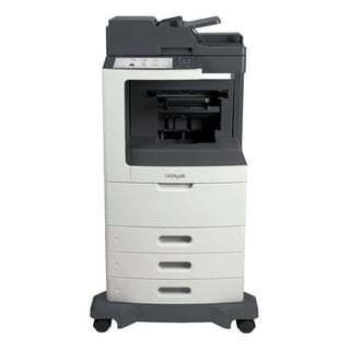 Lexmark MX812DXE Laser Multifunction Printer - Monochrome - Plain Pap