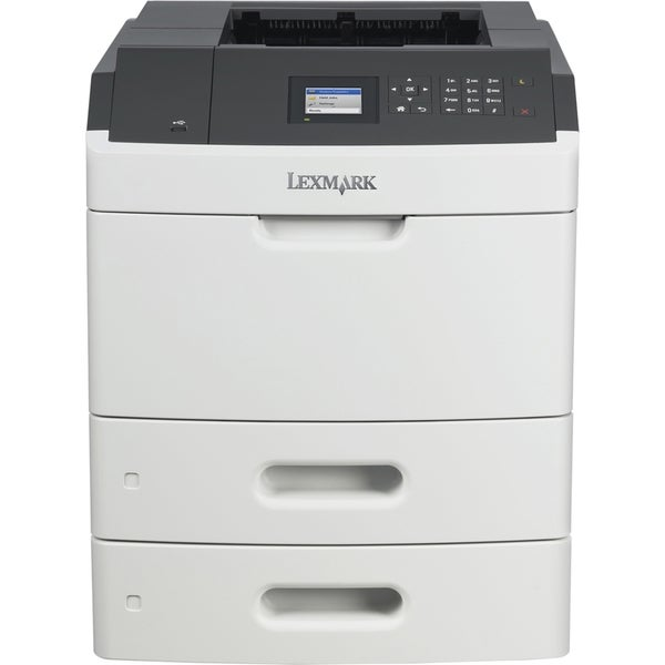 Lexmark MS812DTN Laser Printer - Monochrome - 1200 x 1200 dpi Print -