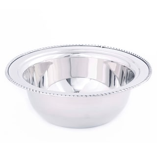 Old Dutch Round Stainless Steel 3-quart Food Pan