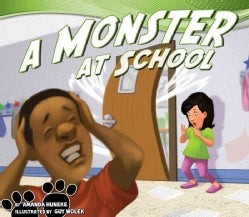 A Monster at School (Hardcover)