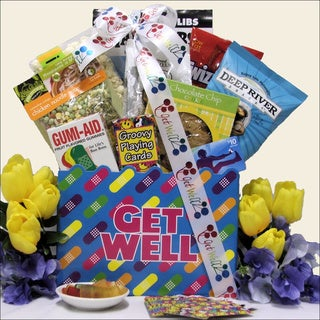 Humor and Tunes Teen Get Well Gift Basket