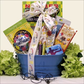 Birthday Tunes: Kid's Birthday Gift Basket for Boys Ages 9 to 12