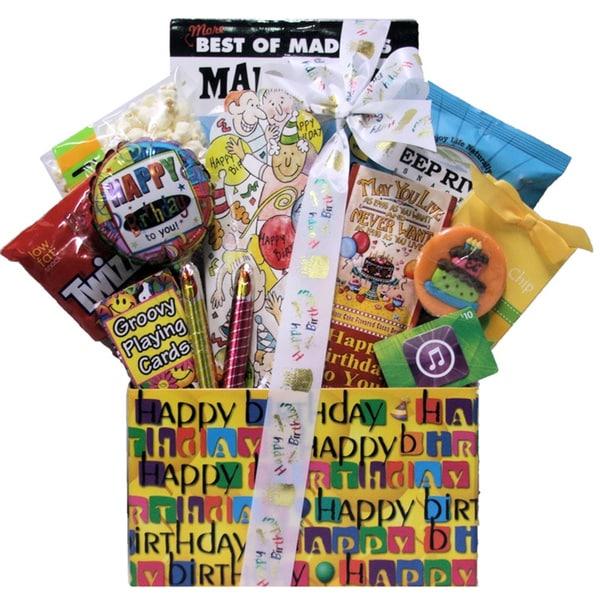 iTunes Teen Kid's Birthday Gift Basket