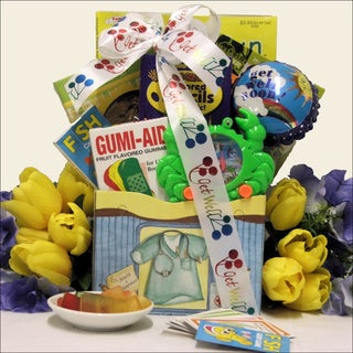 Great Arrivals For Life's Boo Boos Kid's Get Well Gift Basket