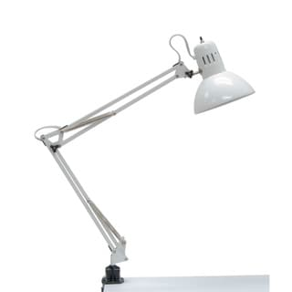 Studio Designs White Swing Arm Lamp