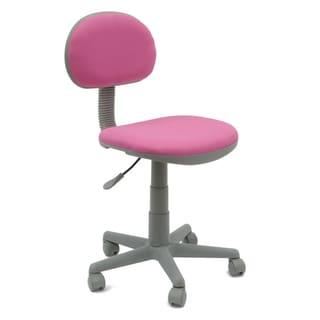 Studio Designs Pink/Grey Deluxe Task Chair