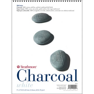 Strathmore Charcoal Paper Pad White 9