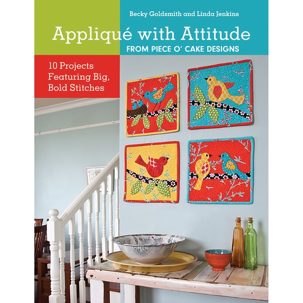 C & T Publishing-Applique With Attitude