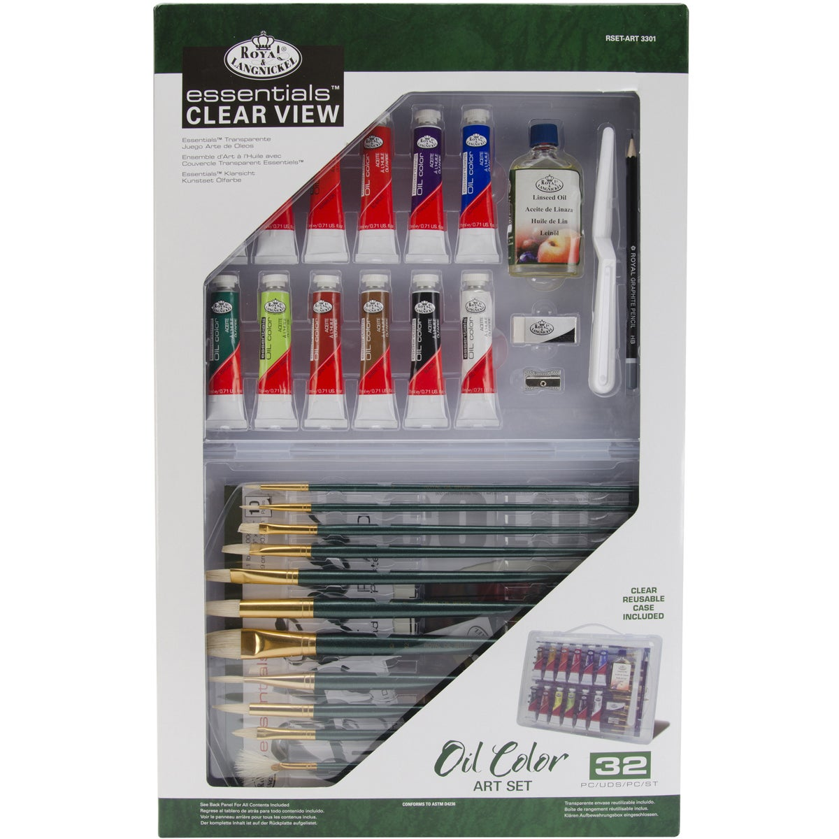 Clearview Large Oil Painting Art Set