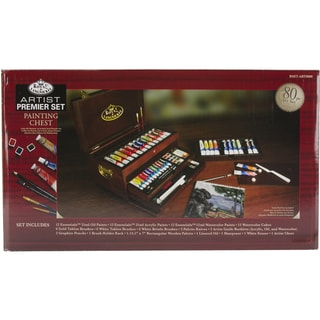 Premier All Media Painting Chest Set 80 Piece