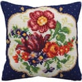 Meissen Droite Pillow Cross Stitch Kit