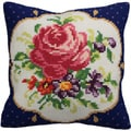 Meissen Gauche Pillow Cross Stitch Kit