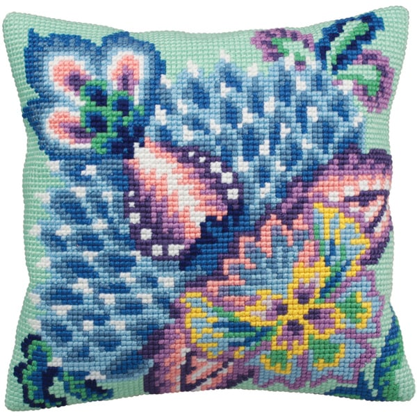 Romance Pillow Cross Stitch Kit