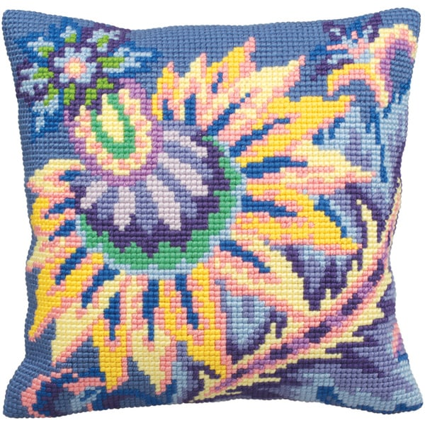 Joie Pillow Cross Stitch Kit