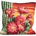 Surprise D'devque Pillow Cross Stitch Kit