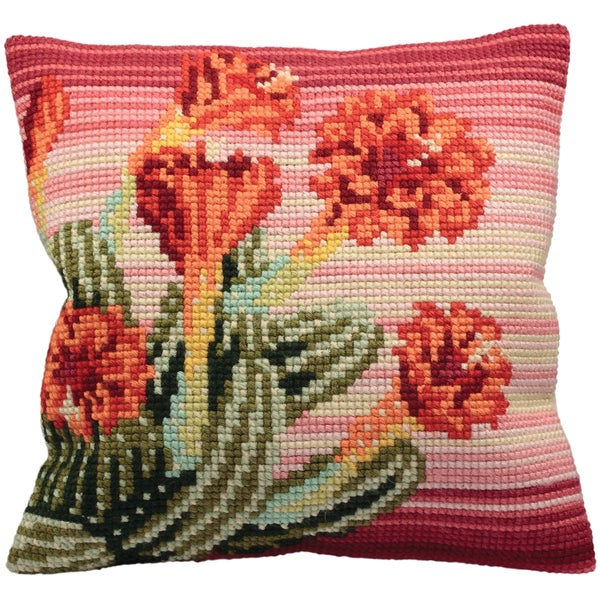 Surprise Du Desert Pillow Cross Stitch Kit