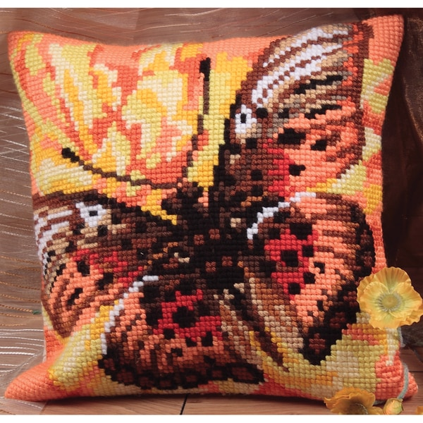 Flamme Pillow Cross Stitch Kit