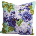 Lilas Double Pillow Cross Stitch Kit