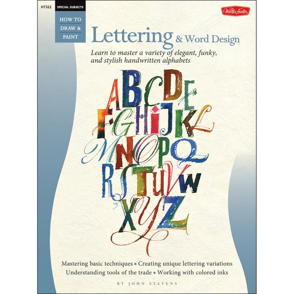 Walter Foster Creative Books-Special Subjects: Lettering&Word Design