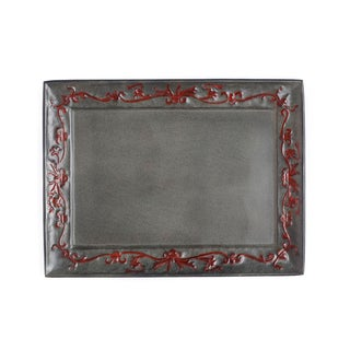 Old Dutch Art Nouveau Rectangular Tray
