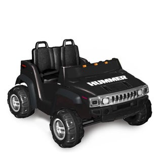 Hummer H2 Two Seater in Black (12V)