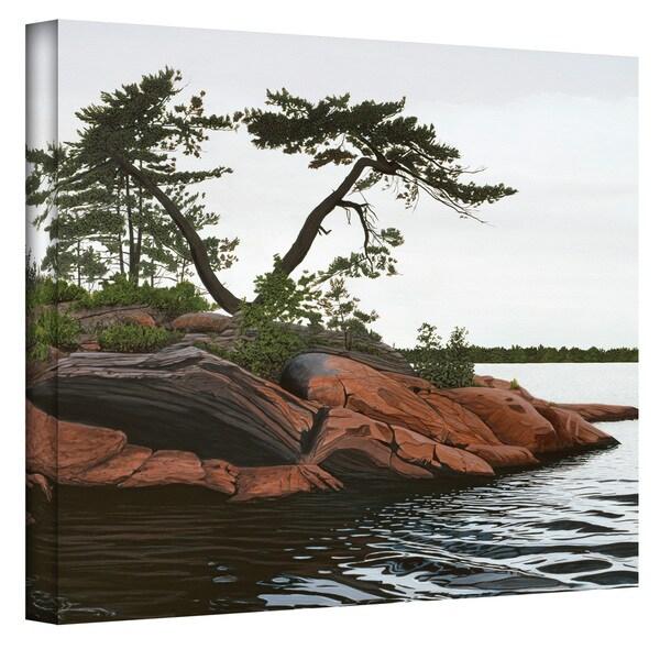 Ken Kirsch 'Windswept' Wrapped Canvas