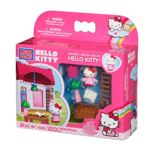Mega Bloks Hello Kitty Library Playset 9850856
