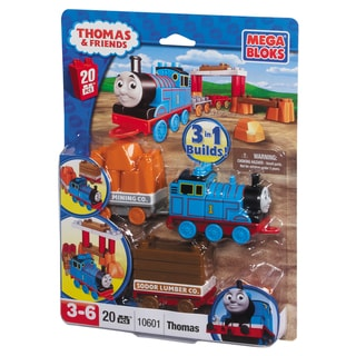 Mega Bloks Thomas with Wagon Playset