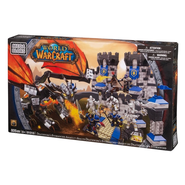 Mega Bloks World of Warcraft Deathwings Stormwind Assault 9850867