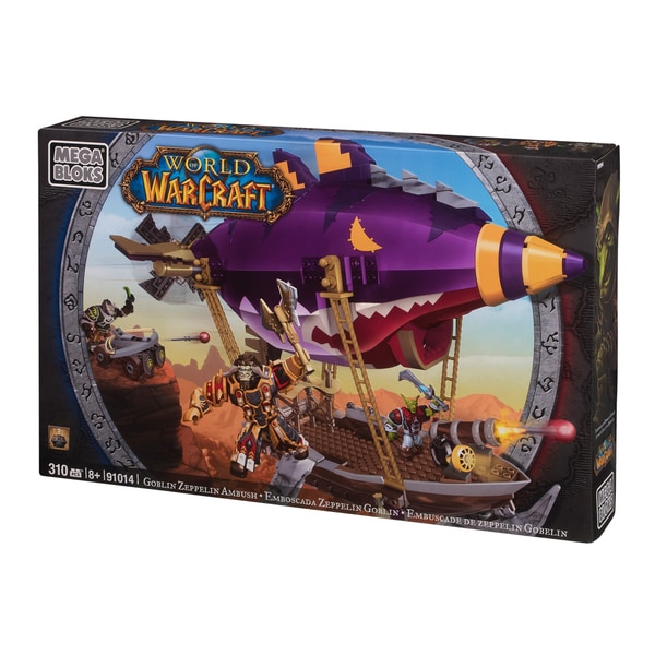 Mega Bloks World of Warcraft Goblin Zeppelin Playset 9850870