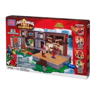 Mega Bloks Power Rangers Samurai HQ Battle Playset