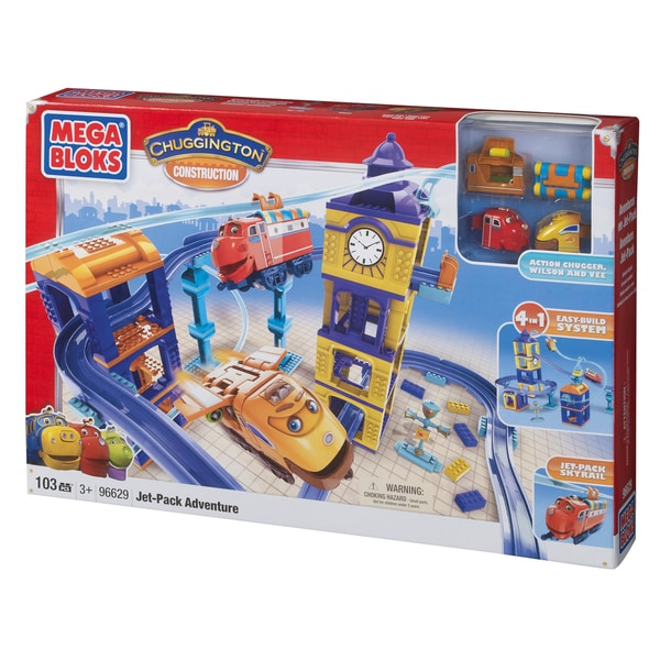 Mega Bloks Chuggington Construction Jet Pack Adventure 9850874