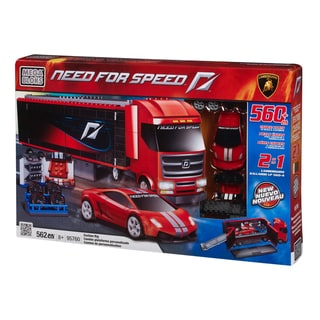 Mega Bloks Need for Speed Custom Rig Lamborghini Playset