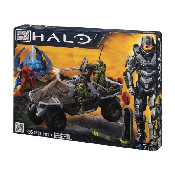 Mega Bloks Halo Warthog Resistance Playset 9850877