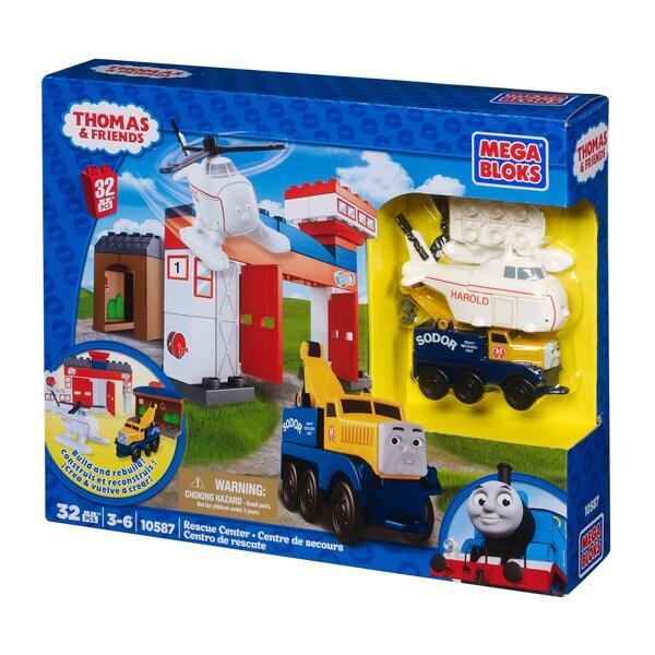 Mega Bloks Thomas and Friends Rescue Center