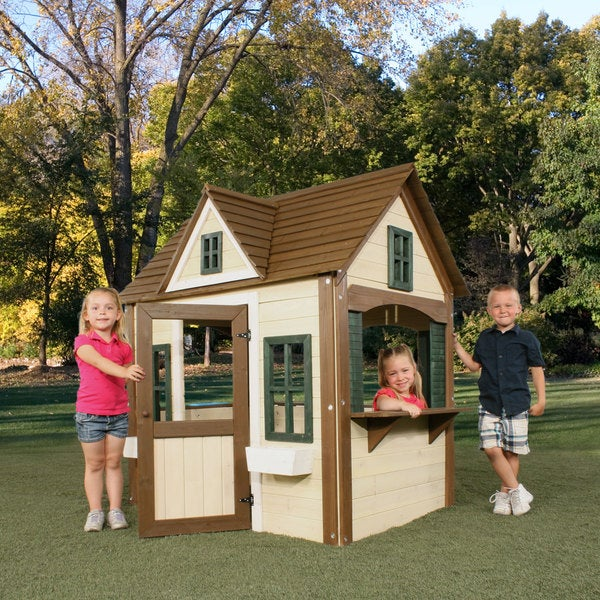 swing n slide classic wood playhouse kit 2